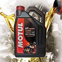 Масло для 4-х тактных двигателей мотоцикла Motul 7100 4T 10W50 (4л)