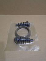 Графитовое кольцо выхлопа ВАЗ 2110-2112 с пружинами и болтами 55мм