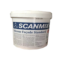 Scanmix Silicone Facade Standard силіконова фарба фасадна, 10л