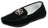 Мокасины женские Comfort 81034 черная замша