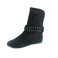 Ботинки демисез женск Viko Бритни 21-25 черные