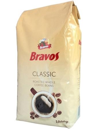 Кофе в зернах Бравос, Bravos Classic, 1кг (Венгрия)
