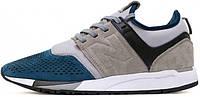Мужские кроссовки New Balance 247 Grey/Blue