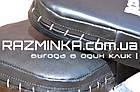 Макивара для отработки ударов большая кожаная 60х40 см, фото 2