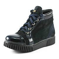 Ботинки демисез женск RENDI RD-007BL синий
