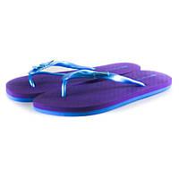 Шлепанцы женские Story TWL 14231 фиолетовый-синий
