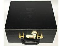Стеклянный кальян в сундуке, на 1 трубку MK65 / кальян зі скла в валізі