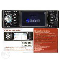 Автомагнитола Pioneer 3615B, автомобильная магнитола с дисплеем 3.6 дюйма, автомагнитола MP3 Pioneer