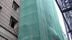 Защитная фасадная сетка