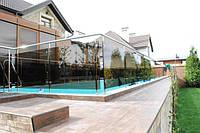 Стеклянные ограждения для бассейнов