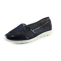 Туфли женские Sopra WH1346-14А-темно-синий