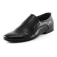 Туфли мужские Patriot 14V049-B  черная кожа
