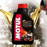 Масло для 4-х тактных двигателей мотоцикла Motul 7100 4T 15W50 (1л)