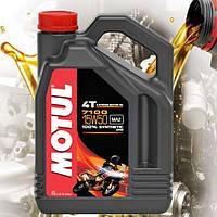 Масло для 4-х тактных двигателей мотоцикла Motul 7100 4T 15W50 (4л)