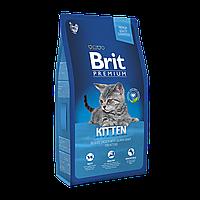 Brit Premium (Брит Премиум) KITTEN 0.3кг - корм с курицей в лососевом соусе для котят