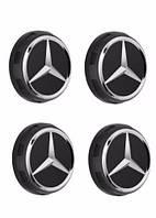 Колпачок на диск черный матовый AMG Mercedes-Benz  Новый Оригинальный