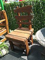Стул из натурального дерева из комплекта Лесник, фото 1