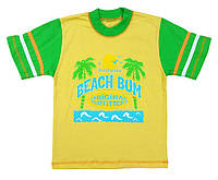 """Футболка для мальчика """"Пляж"""",размер 110"""