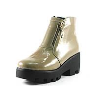 Ботинки демисез женск CRISMA CR 1507 бежевый