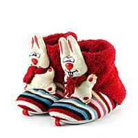Тапочки комнатные детские Home Story 16505 красный
