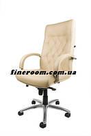 Кресло офисное для руководителя FIDEL steel chrome LE-F
