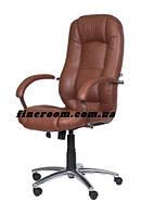 Кресло офисное для руководителя MODUS STEEL CHROME ECO-21 (механизм TILT)