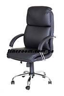 Кресло офисное для руководителя NADIR steel chrome ECO-30
