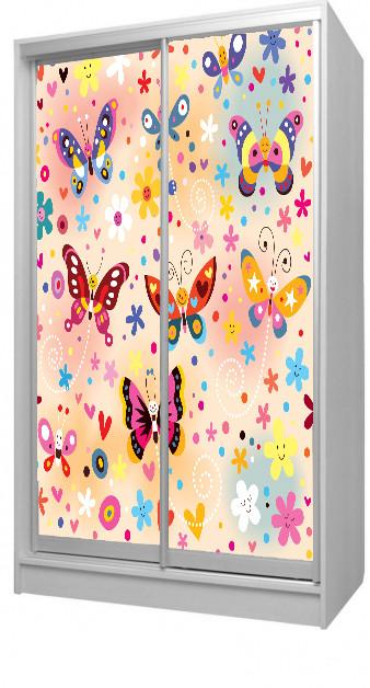 Шкаф - купе бабочки 2