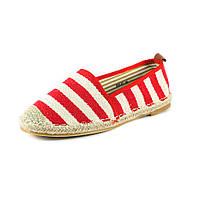 Балетки женские Sopra 888-61 бело-красные