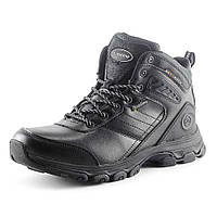 Ботинки зимние  мужские Restime PMZ 15120 черный