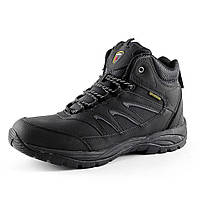 Ботинки зимние  мужские Restime PMZ 15156 черный