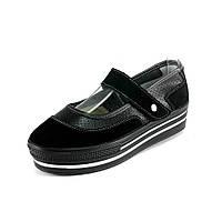 Мокасины женские Allshoes 260 черный