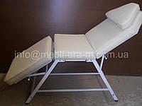 """Косметологическая регулируемая кушетка """" L -01"""". Мягкая мебель для дома и офиса."""