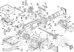 Спецификация запасных частей для двухступенчатых прогрессивных или модуляционных горелок PRESS PG