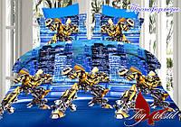 Комплект постельного белья полуторный ТМ Таg transformers