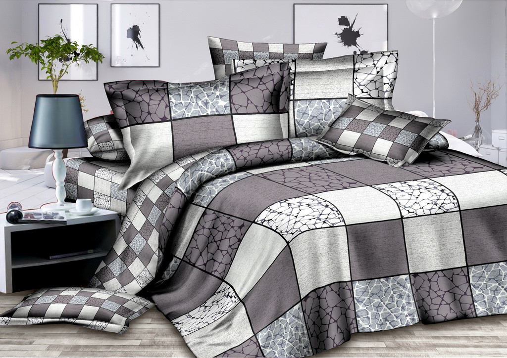 Двуспальный комплект постельного белья Утренняя Дымка (наволочки 50х70)