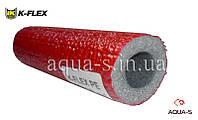Теплоизоляция для трубопровода из вспененного полиэтилена  K-FLEX PE 22x6 мм. (красная)