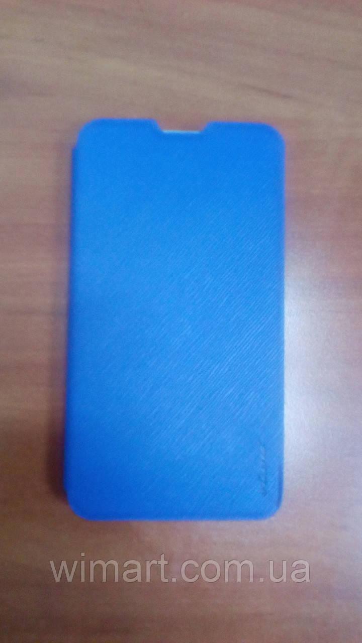 Чехол - книжка для ThL T200/T200C Синий.