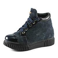 Ботинки зимние женские RENDI RD-007w синий