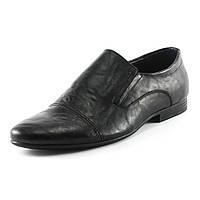 Туфли мужские Patriot 14V080 черная кожа