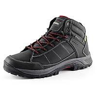 Ботинки зимние  мужские Restime PMZ 15139 черный