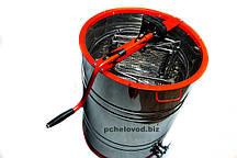 Медогонка 2-х рамочная Поворотная Нержавеющая бочка кассеты и ротор