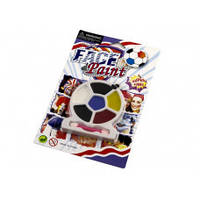 "818989 Краски для лица, 6цветов ""Футбол"""