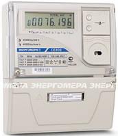 Электросчетчик СЕ 303 S31 503 JAYVZ (12) 5-10А, 3 фазный, 3*57.7/100 В, ЖКИ, многотарифный