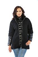 Женское Пальто Т-17 Черный