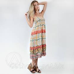 Сарафан женский Taha распродажа 018SAR купить платье оптом дешево