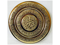 Тарелка настенная бронзовая Танцующий Шива (d-31 см) ( 20469)