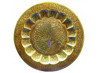Тарелка бронзовая настенная (17,7 см) ( 1800)