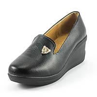 Туфли женские Lifexpert 79672-1 черная кожа