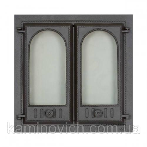 Каминная дверца двух створчатая SVT 400